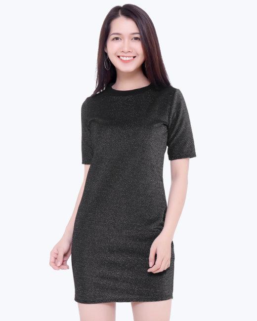 Đầm Suông Kim Tuyến Thời Trang