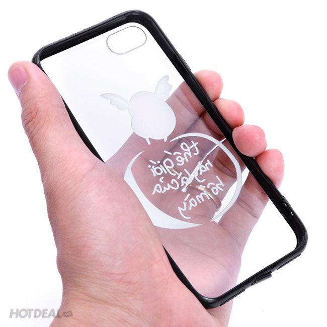 Ốp Iphone Đậu Đen Đậu Đỏ Tung Tăng
