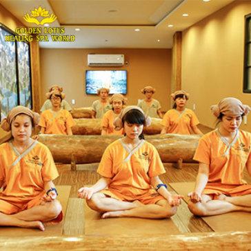 Trọn Gói 1 Ngày Xông Hơi Thải Độc Jjim Jil Bang Hàn Quốc Độc Nhất Vô Nhị Tại TPHCM - Golden Lotus Healing Spa World 5*
