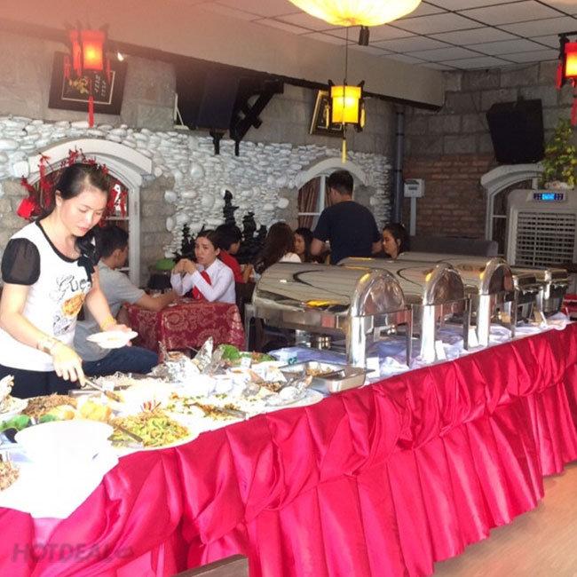 Buffet Chay Buổi Trưa Trên 25 Món + Tặng Thức Uống Tại Nhà Hàng...