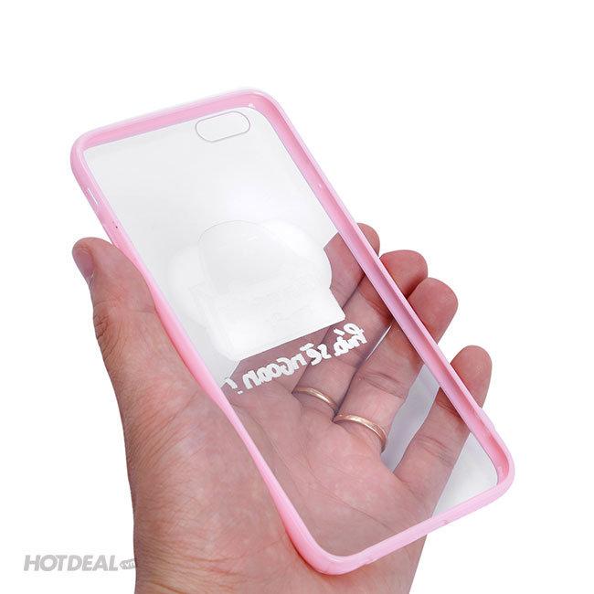 Ốp Lưng iPhone Đậu Đỏ Cần Người Nuôi Hứa Sẽ Ngoan