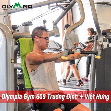 01 Tháng Tập Gym + Xông Hơi + Aerobic Tại Olympia - 02 Cơ Sở