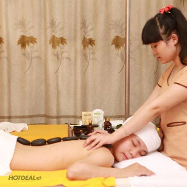 (120') Massage Body Nhật + Thái + Foot (70') + Ngâm Chân Thuốc Bắc +...