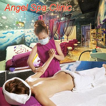 Angel Spa Clinic - Miễn Tip, Massage Body + Chăm Sóc Da Mặt Kết Hợp Xông Hơi Mặt Bằng 60 Vị Thuốc Bắc