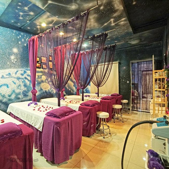Miễn Tip, Massage Body + CSD Mặt Kết Hợp Xông Hơi Mặt Bằng 60 Vị...