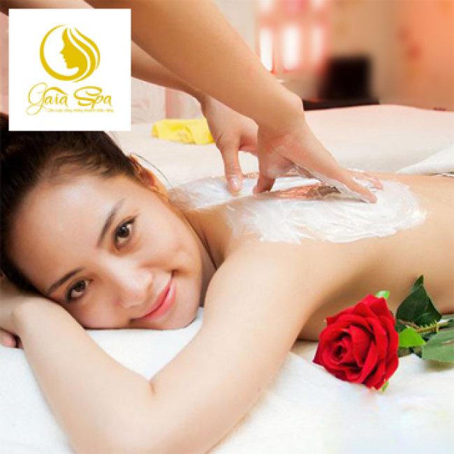 Tẩy Da Chết + Đắp Ủ Dưỡng Toàn Thân Kèm Massage Cổ Vay Gáy...