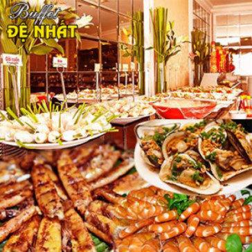 Buffet Trưa Đệ Nhất Trên 60 Món Việt, Á, Âu, Lẩu - Miễn Phí Nước Uống + Kem Tươi