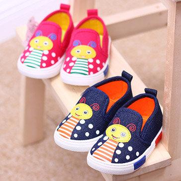 Giày Vải Hình Con Ong Cho Bé Từ 2 -5 Tuổi