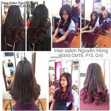 Salon Nguyễn Hùng - Trọn Gói Làm Tóc Cao Cấp Bằng L'Oreal - Tặng Hấp Dầu