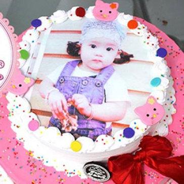 Bánh Tiramisu 1,6x5cm In Hình Theo Yêu Cầu - Duy Nhất Tại Woa Cake