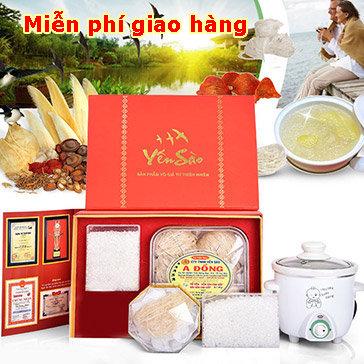 Yến Sào A Đồng Combo 04 Đặc Biệt: 1 Hộp Yến Sào 100gr + 1 Nồi...