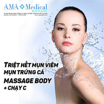 AMA Medical Beauty&Spa - Miễn Tip 1 Trong 2 Dịch Vụ Điều Trị Mụn Và Massage Body Cao Cấp