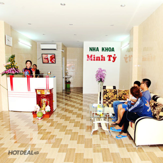 Nha Khoa Minh Tỷ - Cạo Vôi, Đánh Bóng/ Trám Răng