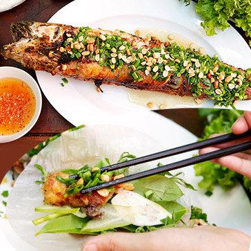 Mekong Special - Combo Món Cá Lóc Phun Lửa + 1 Đĩa Trái Cây Dành Cho 2 Người