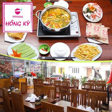 Combo Lẩu Thái 05 Món Dành Cho 02 Người Tại Hồng Kỳ Quán