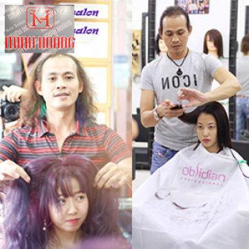Salon Minh Hoàng – Không Bù – Trọn Gói Tạo Mẫu/ Phục Hồi Tóc