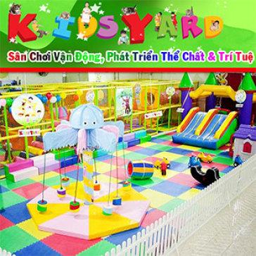 Khu Vui Chơi Kidsyard - Sài Gòn Supperbowl Tổ Hợp Trò Chơi Giáo Dục, Bổ Ích & Lý Thú Cho Bé Yêu