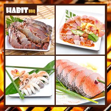 Buffet Nướng Lẩu - Habit BBQ Menu Tasty - Menu Mới - Chất Lượng Mới