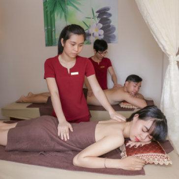 Steambath + Massage Body Đá Nóng + Massage Foot - Massage Người Mù Kỳ Quang Minh
