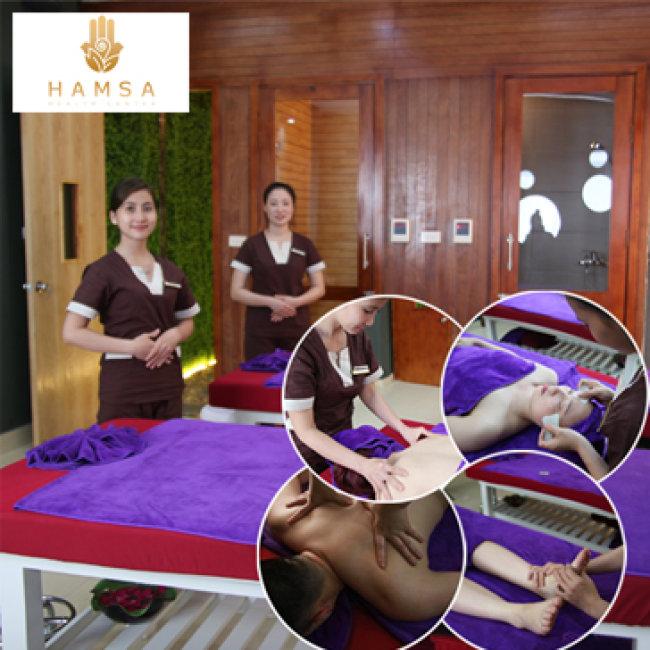 Massage Toàn Thân - Đã Bao Gồm Xông Ướt Và Xông Khô Tại Hamsa Spa