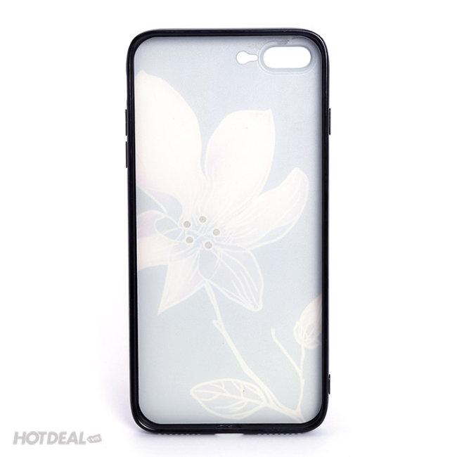 Ốp Dẻo In Hoa Nổi Sang Trọng Đẳng Cấp Cho IPhone
