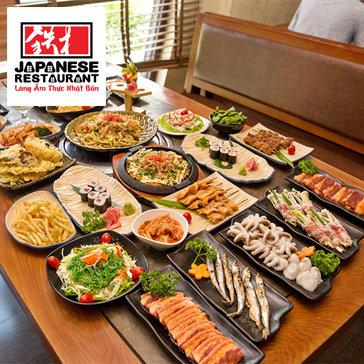 Buffet Nhật Bản Tại Nhà Hàng Sashimi BBQ Garden