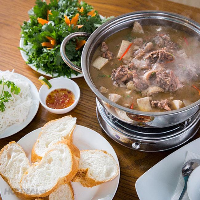 Nhà Hàng Halal@Saigon - Lẩu Vịt Xiêm Nấu Chao Dành Cho 2- 4 Người
