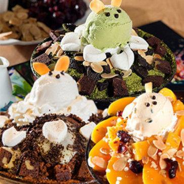 Excape Dessert - Bingsu Kem Đá Bào Nổi Tiếng Hàn Quốc + Bonus Đặc Biệt Cho 2 Đến 3 Người