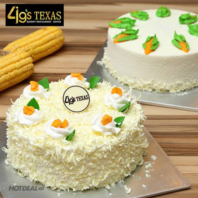 Bánh Kem Nhân Bắp Đặc Biệt (15x5cm) Tại 4G's Texas Bakery