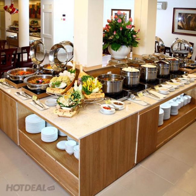 Buffet Chay Trưa Tại Nhà Hàng Cỏ Nội Khách Sạn Bông Sen 2