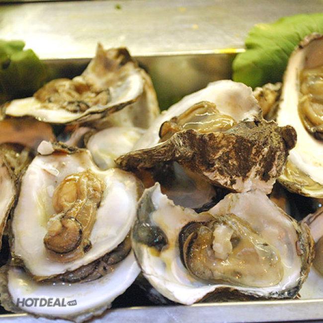 NH Kraut - Tiệc Buffet BBQ Buổi Tối Các Món Hải Sản, Tôm, Cua, Ốc...