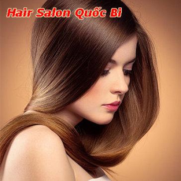 Hair Salon Quốc Bi - Trọn Gói Làm Tóc Cao Cấp Bằng D'Angello Của...