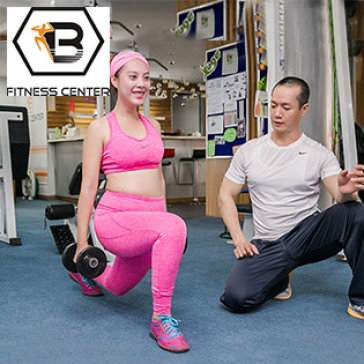 1 Tháng Tập Gym Không Giới Hạn Thời Gian Tại B Fitness & Yoga Center