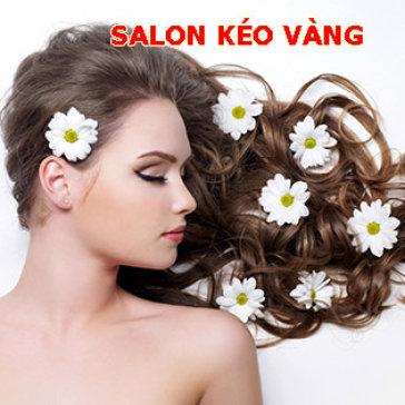 Salon Kéo Vàng - Trọn Gói Uốn/Duỗi/Nhuộm/Bấm Tóc + 03 Quà Tặng