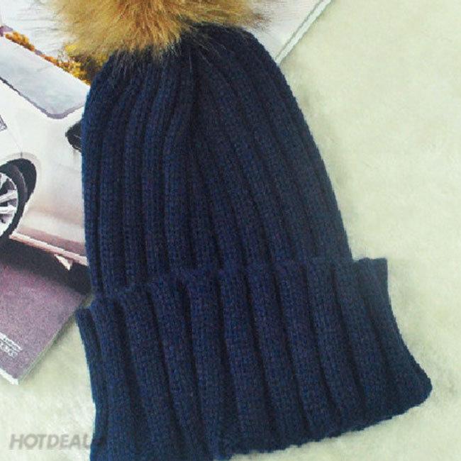 Mũ Len Dệt Kim Thời Trang