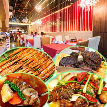 Buffet Trưa Hơn 40 Món Tại 4G'S Texas Restaurant