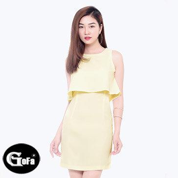 Đầm Ôm Kiểu Peplum TH Gofa