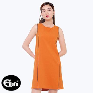 Đầm Suông Phối Li TH Gofa