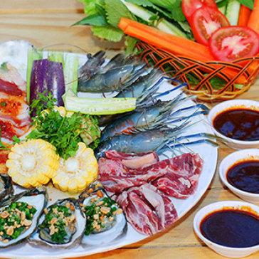 Combo Tôm Càng, Bò Mỹ & Hào Nướng BBQ Cho 2 - 3 Người Tại Hệ Thống Phố Nướng Jokul