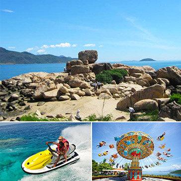 Tour Giá Sốc Đảo Bình Ba – Nha Trang 3N3Đ - Tiệc Bar Trên Biển - 4 Đảo- Vinpearl Land- Dành Cho 1 Khách