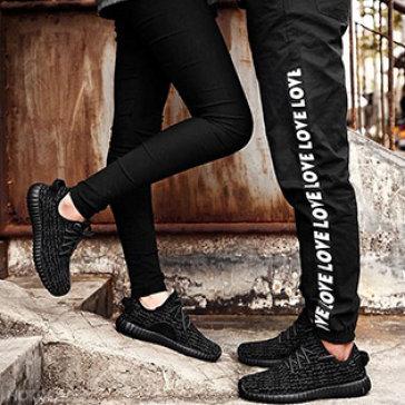 Giày Sneaker Nam/ Nữ Họa Tiết Thời Trang