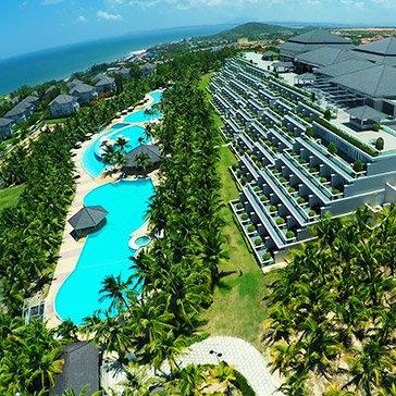 Sea Links Beach Hotel Mũi Né 5* 2N1Đ Phòng Superior Pool View Bao Gồm Ăn Sáng + Ăn Trưa + Voucher Jojoba Spa