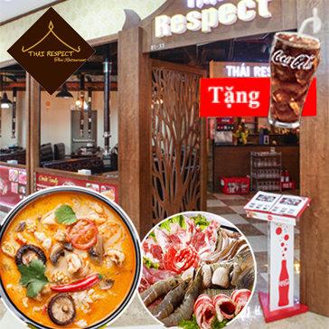 Buffet Lẩu Chuẩn Vị Thái Nhà Hàng Thái Respect - Vincom Plaza 234...