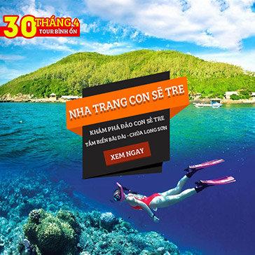Tour Bình Ổn Lễ 30/04  Nha Trang 3N3Đ – Khám Phá Đảo Con Sẻ Tre – Vinpearl