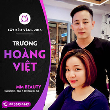 Trọn Gói Làm Tóc Với Nhiều Màu Sắc Hot Nhất 2017 Cùng Cây Kéo Vàng Toàn Quốc 2016 Tại MM Beauty Salon