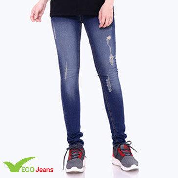 Quần Jean Dài Nữ Jnud-039-M1-Ecojean