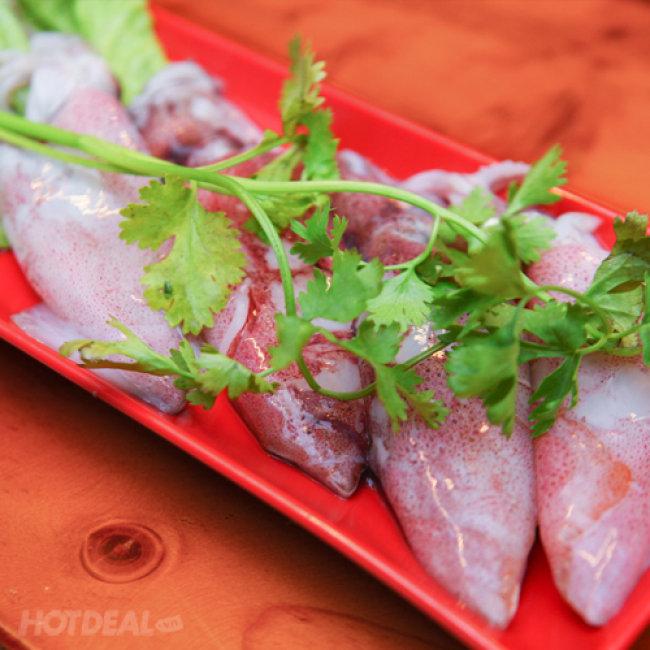 Buffet Lẩu Hồng Kong - Phục Vụ Tại Bàn - Nhà Hàng Trung Sơn Phố