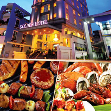 Buffet Tối Lễ 30/4 Tầng 17 - Golden Central Hotel Saigon 4*