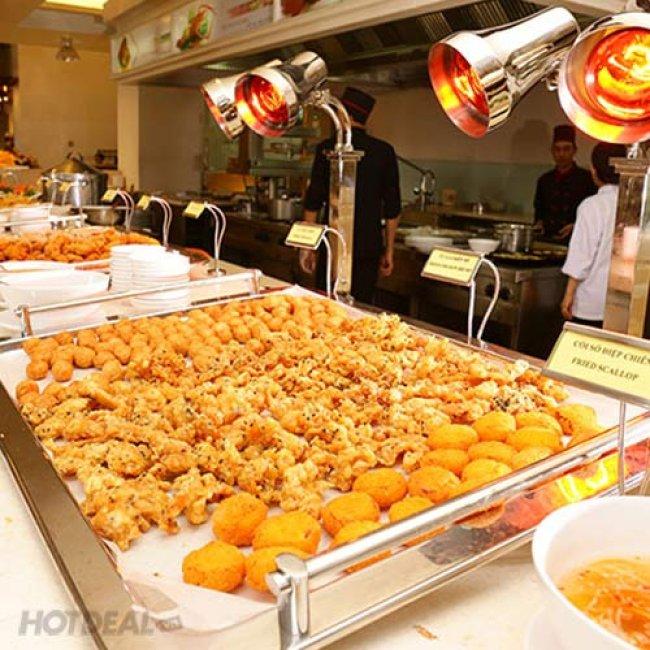 Buffet Trưa Hải Sản KS Tân Sơn Nhất 5* Trên 60 Món