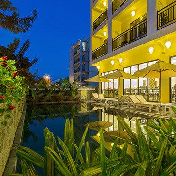 Hội An Rose Garden 3* Hotel 2N1Đ – Có Hồ Bơi - Gần Phố Cổ Hội An - Không Phụ Thu Cuối Tuần
